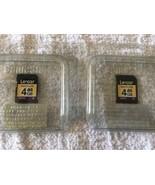 Lot Of 2 Lexar 4GB Sandisk Multi-Use Secure Digital SDHC Memory Card Camera - $11.87