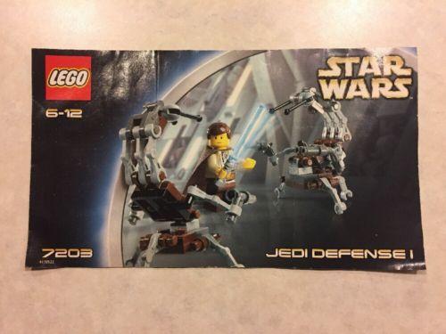 7203 Star Wars Jedi Defense I Lego And 50 Similar Items