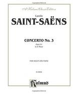 Violin Concerto, No. 3 (Kalmus Edition) [Paperback] Saint-Sans, Camille - $14.92
