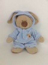 """Ty Pluffies PJ Bear Blue 14"""" Removable PJ's Love to Baby Plush Tylux 2004 - $44.50"""