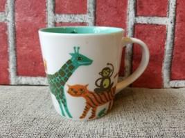 Starbucks Coffee Mug Cup KIDS Zoo Animals Safari New Bone China 2008 10 OZ - $18.33