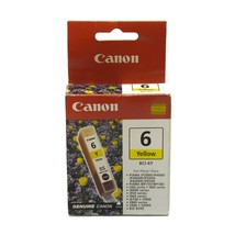 Canon 6 BCI-6Y Yellow Ink Cartridge For Pixma iP8500 iP900D BJC-8200 - $7.89