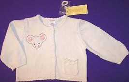NWT Gymboree Creatures Great and Small Mouse Sweater, 12-18 Mos. - $14.99