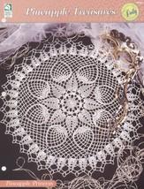 Pineapple Princess Doily, House of White Birches Crochet Pattern Leaflet 109163  - $3.95