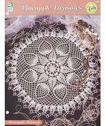 Pineapple Princess Doily, House of White Birches Crochet Pattern Leaflet... - $3.95
