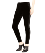 Bar III Pants velvet Black Skinny Women Sz XS NEW NWT 235 - $23.80