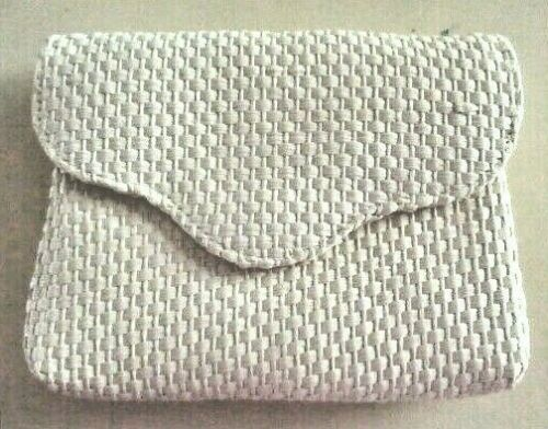 Primary image for Collectible, brand new AVON straw-weave clutch/shoulder bag