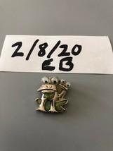 Vintage Frog Pendant - $6.92
