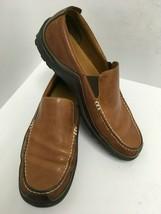Cole Haan Tucker Venetian Light Brown & Dark Brown Loafers Moc C03559 Me... - $37.39