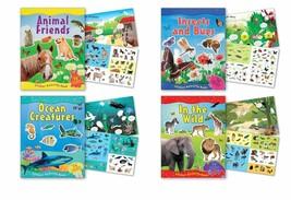 B-KIDS Children's Sticker Activity Books Each Containing Over 70 Reusabl... - $10.75