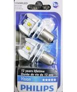 Philips 12898B2 Vision LED 1156 P21 Backup Light 2 (Pair) White Back Up ... - $32.29
