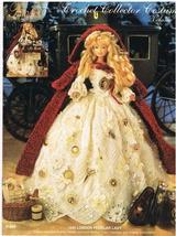 Crochet Collector Costume 72 London Peddlar Lady - $9.75
