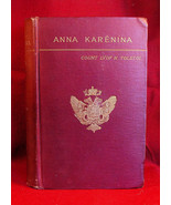 Anna Karenina - Count Lyof N. Tolstoi 1st American edition variant - $2,750.00