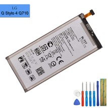 new replacement battery bl-t37 compatible with lg q stylo 4 q710 q710ms q710cs q - $38.99