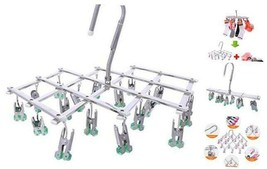 Drying Hanger,Hanging Drying Rack,Drip Hanger Stainless Steel with 18 Pe... - $23.78
