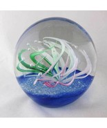 Lorenzo Glass Paperweight Dynasty Gallery Heirloom Collection W/Original... - $38.00