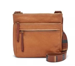 Fossil Corey Ladies Medium Brown Leather Crossbody Handbag ZB6845 - $98.33