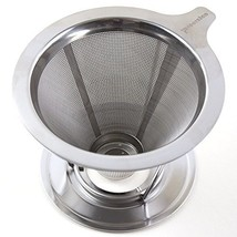 Pour Over Coffee Maker, Dripper Made of Stainless Steel, Paperless Reusable - $24.64