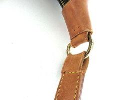 Authentic LOUIS VUITTON Monogram Canvas Leather Boulogne 35 Shoulder Bag image 6