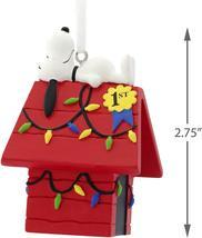 Hallmark Ornament 2019 Peanuts Snoopy on a Dog House - £7.61 GBP