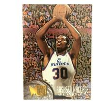 Rasheed Wallace 1995-96 Fleer Metal Rookie Card #208 NBA Washington Bullets - $2.92