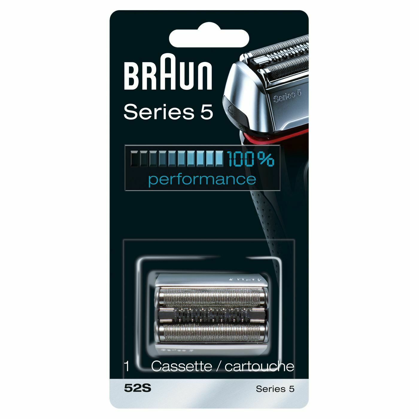 Primary image for Braun Shaver Replacement Head 52 S BRAND NEW
