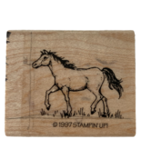 Stampin Up Rubber Stamp Walking Horse Equine Card Making Art Equestrian Animal - $7.99