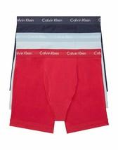 Calvin Klein Men's NU2666G918 Cotton Stretch 3-Pack Boxer Brief Size M - £2,388.85 GBP