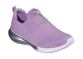 Children's Skechers Ultra Flex Metamorphic Slip-On Sneaker Lavender - $61.37