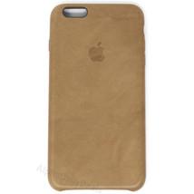 Genuine OEM Apple iPhone 6S Plus / 6 Plus Brown Leather Case MKX92ZM/A - $23.99