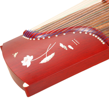 21 string 163cm Guzheng solid wood professional playing and practicing G... - $499.00
