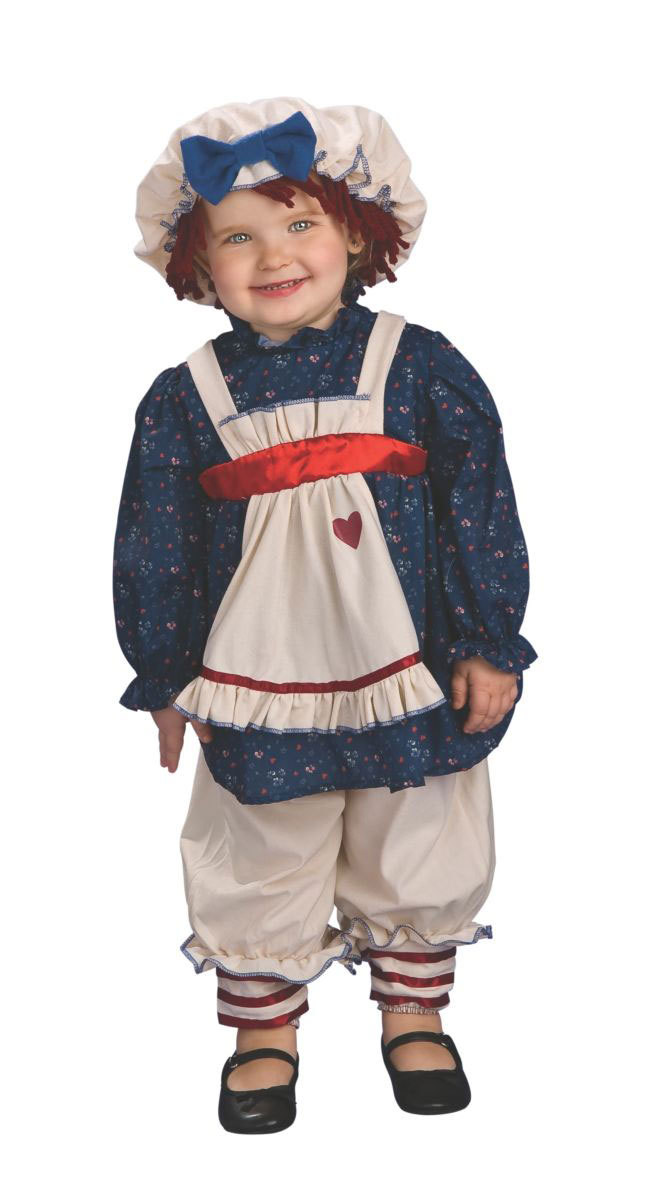 Baby & Toddler Ragamuffin Dolly Halloween Costume