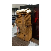 Tactical Backpack 80L Climbing Hiking Military Waterproof Outdoor Travel... - $39.99