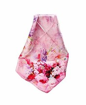 PANDA SUPERSTORE Women's Silk Scarf Shawl Scarves Scarves, Camellia