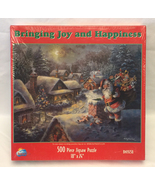 SunsOut puzzle Bringing Joy and Happiness 500 pc sealed Christmas Nicky ... - $6.00