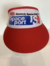 Vintage Kennedy Space Center Space Shuttle Visor Hat Cap Nasa - $24.74