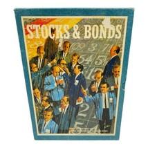 3M Company Game Stocks and Bonds Vintage 1964  Bookshelf Board Game Complete - £10.79 GBP