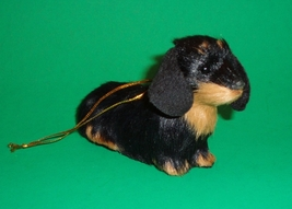 Black & Tan Longhair Dachshund Ornament - $18.50