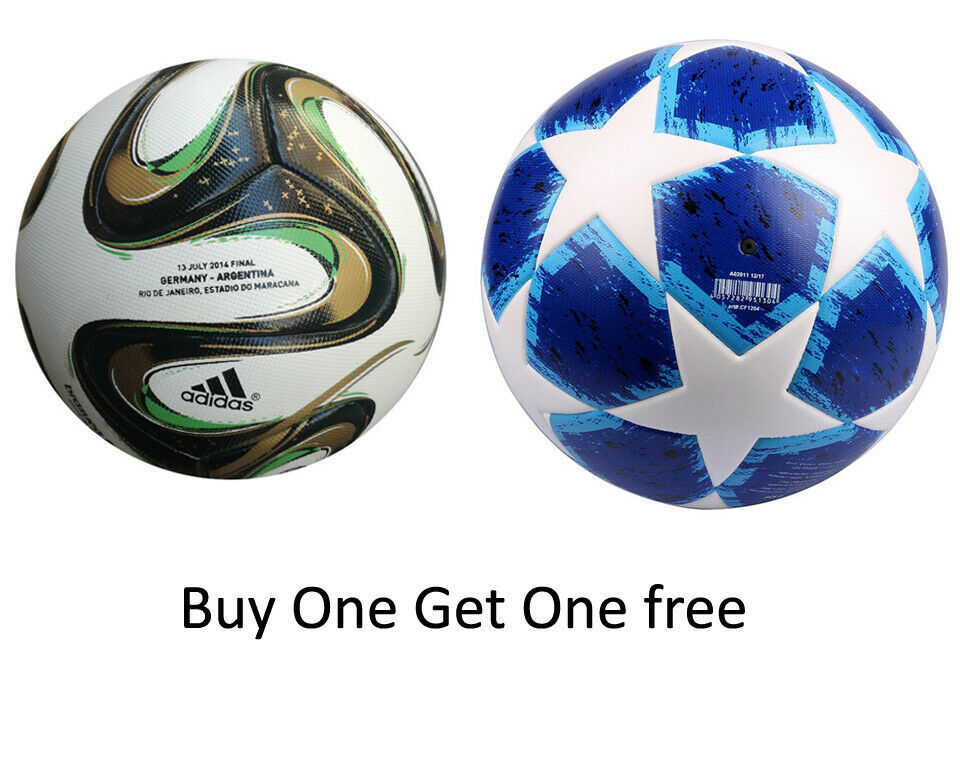 cc219722bb422 Buy one Get One free ADIDAS BRAZUCA OFFICIAL FINAL RIO SOCCER MATCH BALL &  UEFA - $49.50
