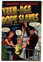 Harvey Comics Library #1 Teen-Age Dope Slaves -comic book HEROIN! - $1,309.50