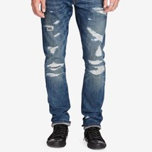Men's Jeans 32 Ralph Lauren Denim And Supply Ripped Prospect Slim - $93.50