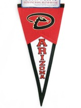 Arizona Diamondbacks Mini Wool Pennant Banner Flag Man Cave Decor MLB So... - $14.84