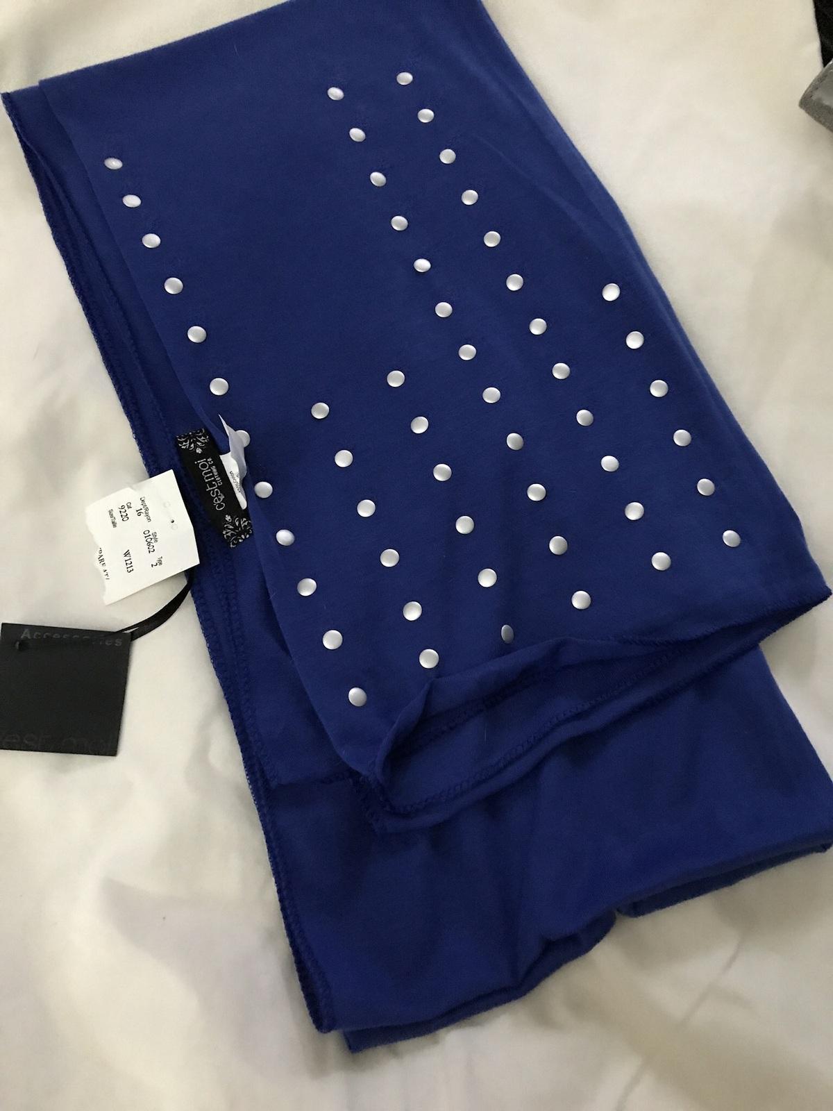 NWT Women's' Royal Blue Scarff