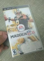 Madden 11 PSP SEALED Video Game Playstation Madden NFL 2011 EA Sports - $38.61