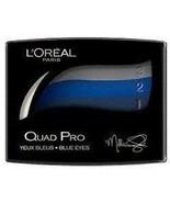 LOreal Quad Pro Blue Eyes 358 Midnight Blue Milla Jovovich Eye Shadow - $10.52
