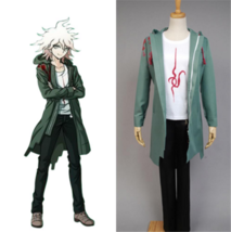 Danganronpa V2 Komaeda Nagito Cosplay Costume Halloween Costume Windbreaker - $58.99