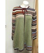Hanna Andersson Storyteller Fair Isle Stripe Sweater Dress 160 Girl XS S... - $32.66