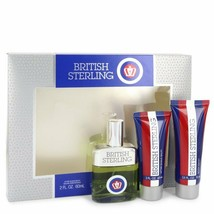 British Sterling By Dana Gift Set -- 2.5 Oz Cologne Spray + 2.5 Oz Body ... - $35.38