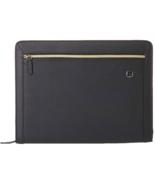 ❤️Wenger Suisse Le Amelie Noir Fermeture Pochette Folio Business Agenda ... - $31.62