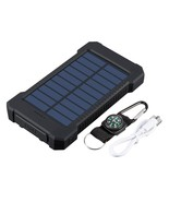 Waterproof 600000mAh Dual USB Portable Solar Charger Solar Power Bank Fo... - $23.95